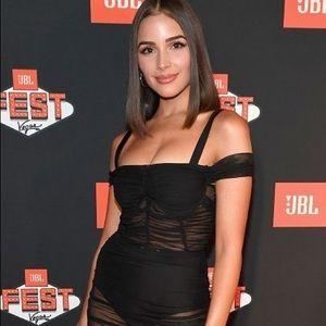 Danielle Guizio Sheer Dress